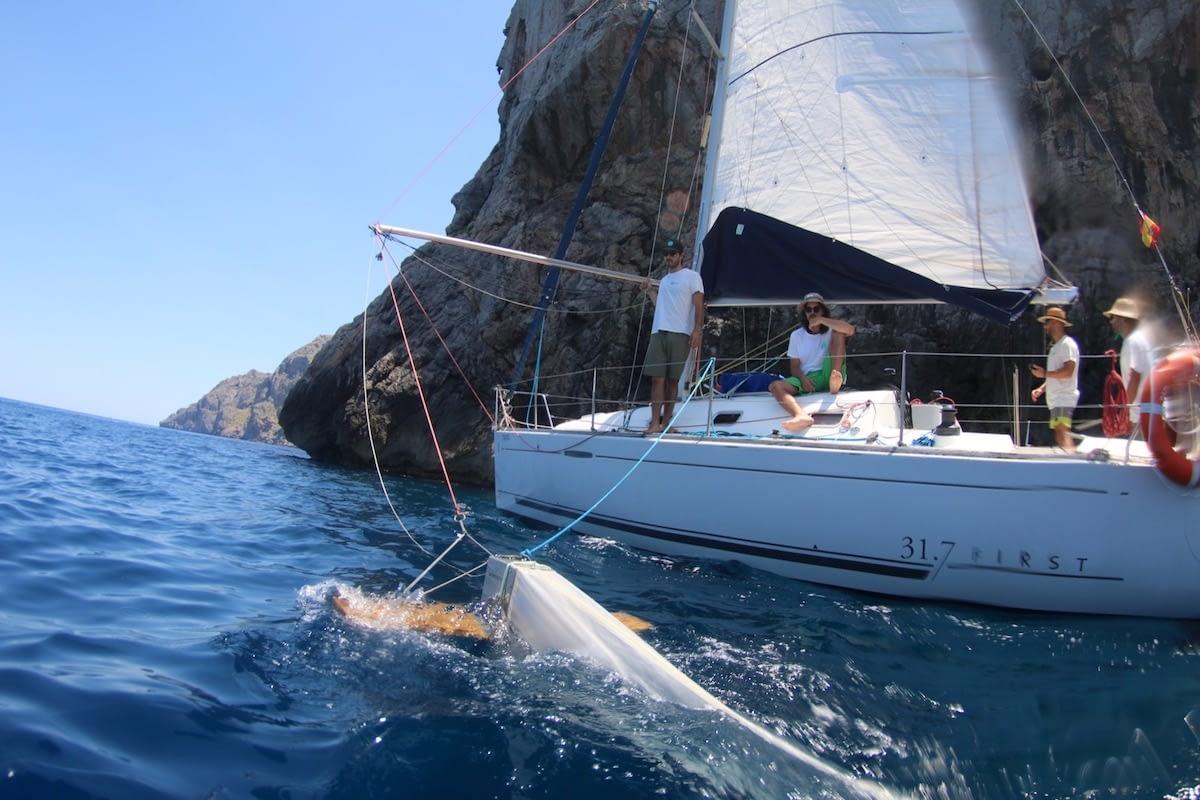 expedicion microplasticos mediterraneo manta trawl