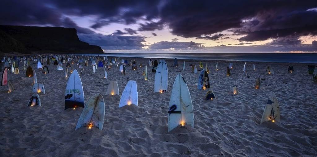 1000 Surfboard Graveyard