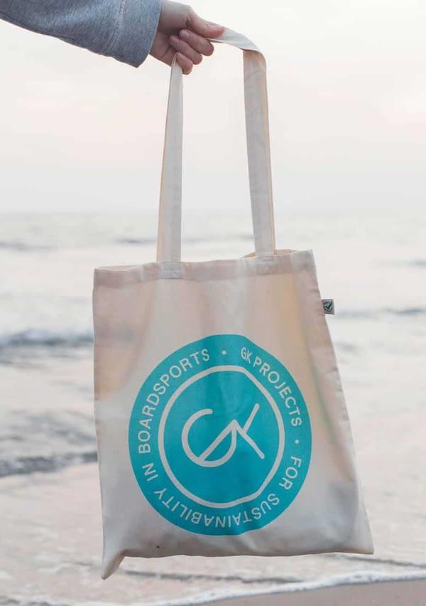 Bolsa de algodón reutilizable